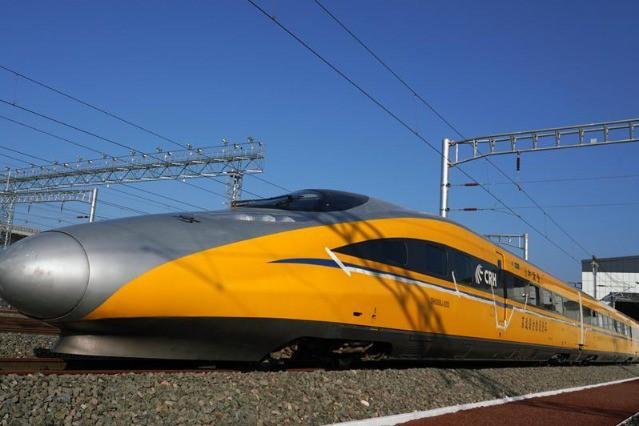 Đường sắt cao tốc của Trung Quốc chạy thử nghiệm đạt tốc độ kỷ lục 385 km/h, cao hơn 10% so với tốc độ thiết kế - Ảnh 2.