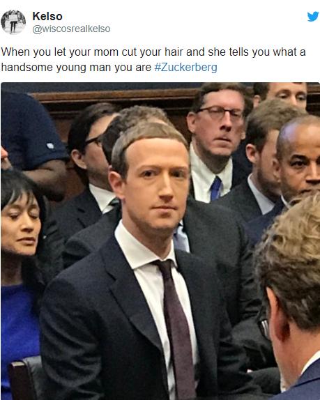 Để kiểu tóc 'bát úp quý tộc' đi điều trần trước Quốc hội Mỹ, Mark Zuckerberg bị một nữ Nghị sỹ 'cà khịa' ngay tại trận và bị 'troll' bất tận trên Twitter - Ảnh 3.