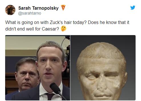 Để kiểu tóc 'bát úp quý tộc' đi điều trần trước Quốc hội Mỹ, Mark Zuckerberg bị một nữ Nghị sỹ 'cà khịa' ngay tại trận và bị 'troll' bất tận trên Twitter - Ảnh 4.