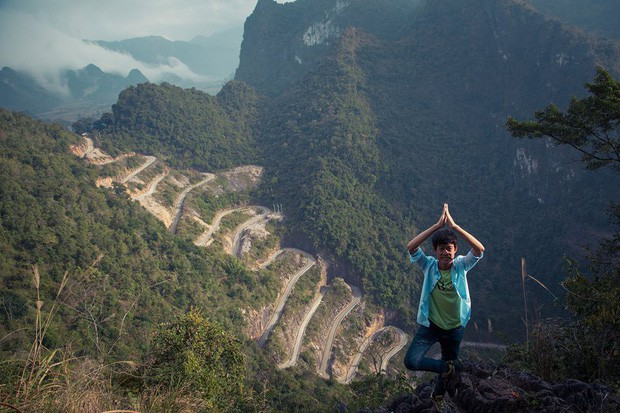 Đã tìm ra con đèo đáng sợ nhất Việt Nam: Uốn lượn 14 tầng cao vút, đến hội phượt thủ lâu năm cũng phải dè chừng - Ảnh 13.