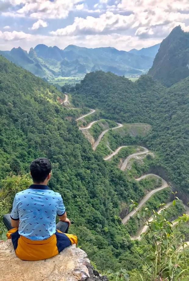 Đã tìm ra con đèo đáng sợ nhất Việt Nam: Uốn lượn 14 tầng cao vút, đến hội phượt thủ lâu năm cũng phải dè chừng - Ảnh 5.