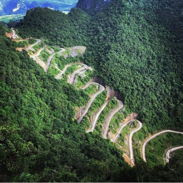 Đã tìm ra con đèo đáng sợ nhất Việt Nam: Uốn lượn 14 tầng cao vút, đến hội phượt thủ lâu năm cũng phải dè chừng - Ảnh 6.
