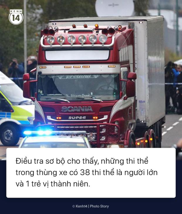 Toàn cảnh vụ phát hiện 39 thi thể trong xe container gây chấn động nước Anh - Ảnh 1.