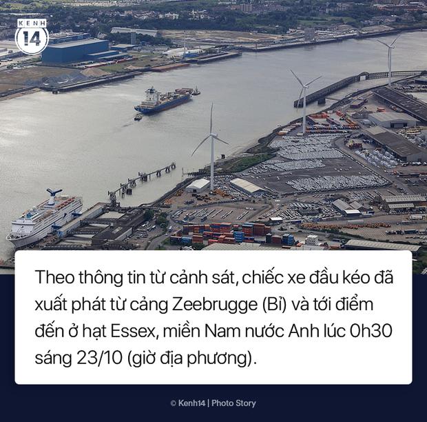 Toàn cảnh vụ phát hiện 39 thi thể trong xe container gây chấn động nước Anh - Ảnh 3.