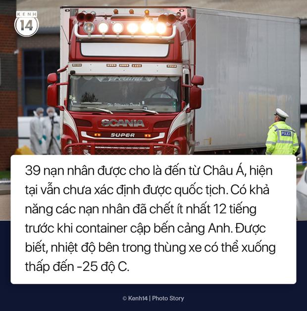 Toàn cảnh vụ phát hiện 39 thi thể trong xe container gây chấn động nước Anh - Ảnh 5.