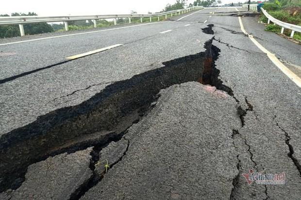 Đường tránh 250 tỷ đồng sụt lún, nứt toác như động đất ở Gia Lai - Ảnh 6.