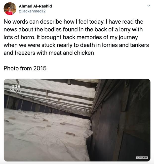 Người di cư kể về mùi tử thần đầy ám ảnh khi bị nhốt trong xe đông lạnh trên hành trình nguy hiểm đến Anh - Ảnh 1.