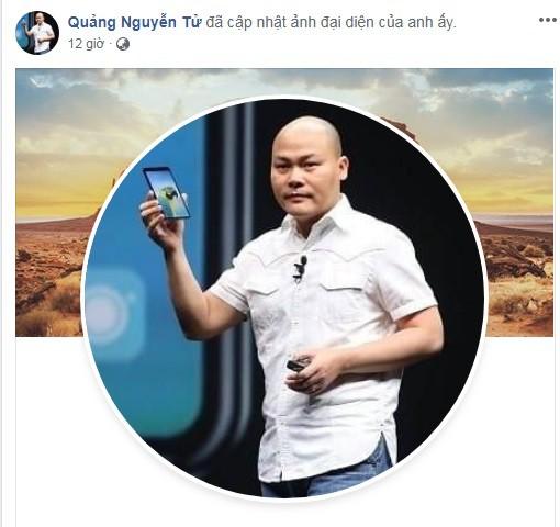 CEO Nguyễn Tử Quảng gia nhập Facebook, công bố Bphone 4 ra mắt đầu năm tới - Ảnh 2.