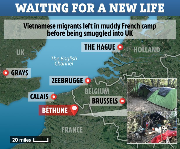 Báo Anh phỏng vấn 13 người Việt ở Pháp chờ nhập cư trái phép vào Anh: Lo sợ sẽ chết như 39 người trong container nhưng vẫn kiên quyết đi đến cùng - Ảnh 5.