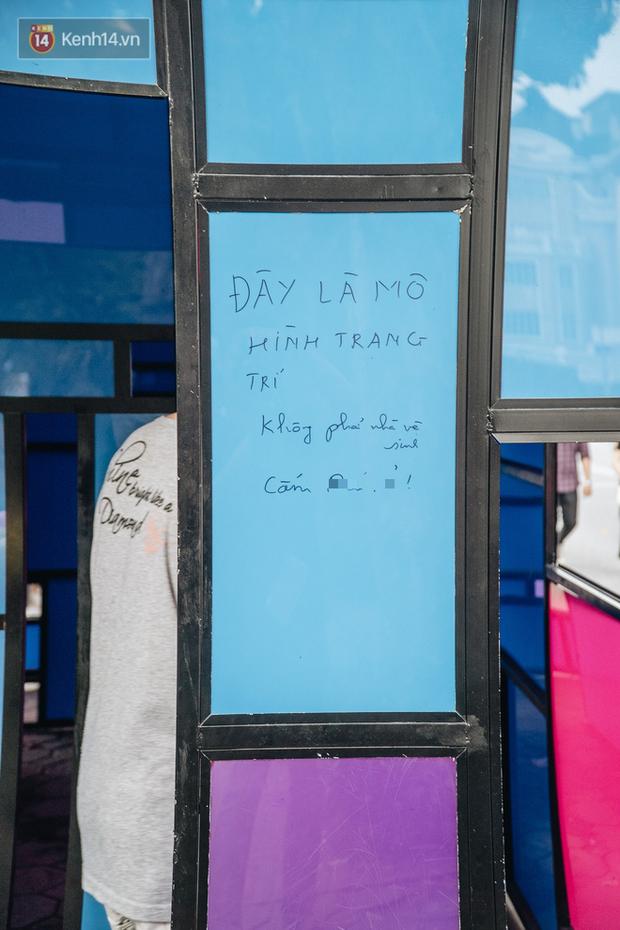 Đáng buồn chuyện người dân đi vệ sinh bên trong tác phẩm nghệ thuật giữa phố đi bộ Hà Nội: Chúng tôi đã rất tâm huyết nhưng bị đối đáp thật thậm tệ - Ảnh 10.