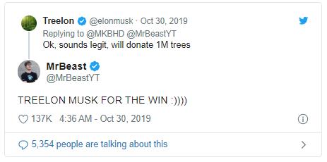 Ai cũng ăn mừng triệu người đăng ký như youtuber này, còn được Elon Musk ủng hộ, Trái Đất chẳng mấy mà được phủ xanh - Ảnh 4.