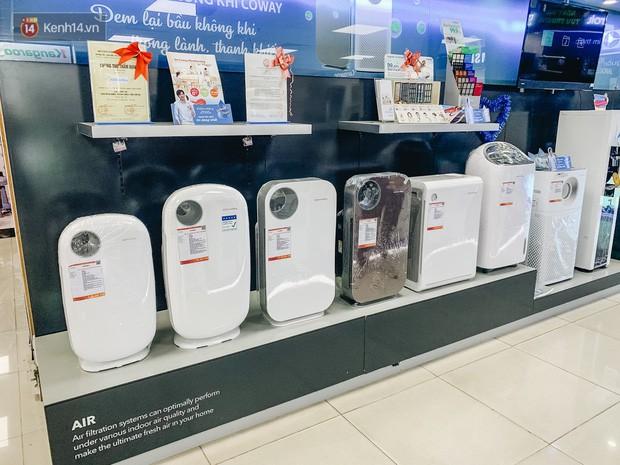 Người Hà Nội bỏ tiền triệu mua khẩu trang xịn và máy lọc không khí, xuất hiện nhiều lời chào hàng chưa kiểm định trên MXH - Ảnh 2.