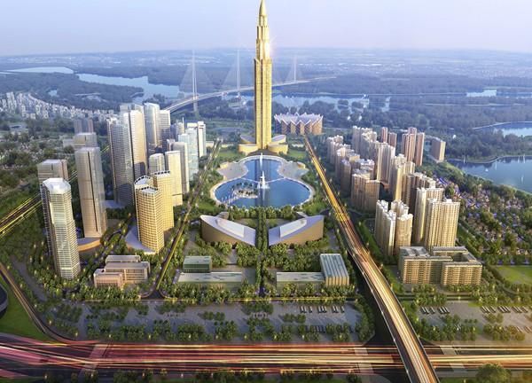 Chính thức động thổ siêu dự án 4 tỷ USD tại Đông Anh, Hà Nội - Ảnh 1.