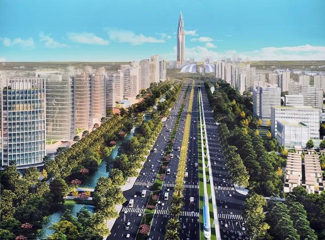 Chính thức động thổ siêu dự án 4 tỷ USD tại Đông Anh, Hà Nội - Ảnh 2.
