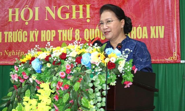 Chủ tịch Quốc hội Nguyễn Thị Kim Ngân nói về 12 dự án ngàn tỉ đắp chiếu của Bộ Công thương - Ảnh 1.