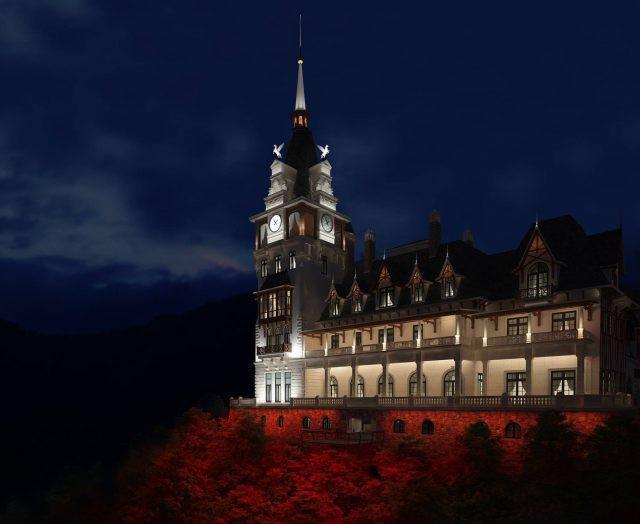 Đại gia kín tiếng chi bao nhiêu tiền để xây lâu đài khủng trên đỉnh Tam Đảo? - Ảnh 1.