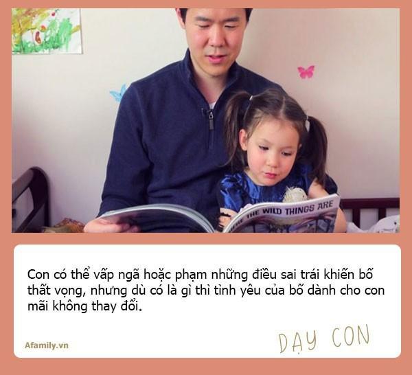 Muốn con gái một đời bình an, tất cả các ông bố hãy dạy con 10 bài học đắt giá hơn vàng này - Ảnh 3.