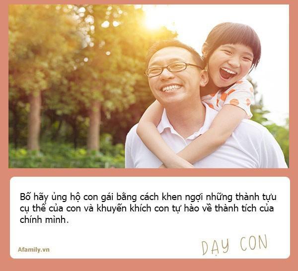 Muốn con gái một đời bình an, tất cả các ông bố hãy dạy con 10 bài học đắt giá hơn vàng này - Ảnh 8.