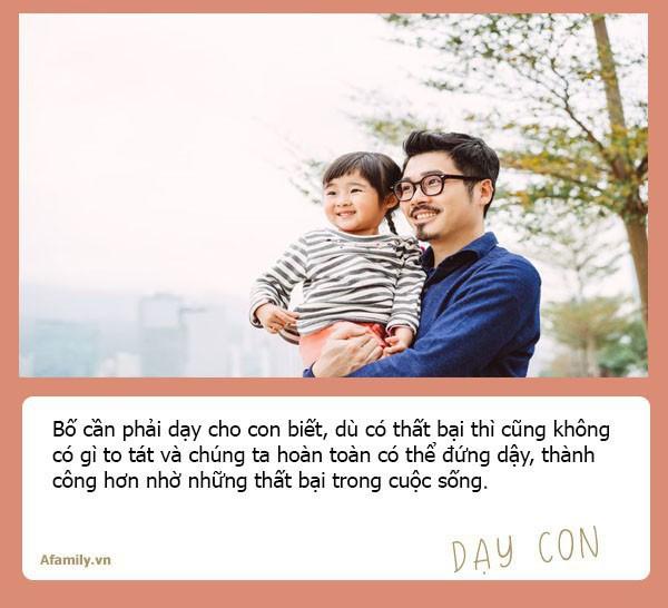 Muốn con gái một đời bình an, tất cả các ông bố hãy dạy con 10 bài học đắt giá hơn vàng này - Ảnh 9.