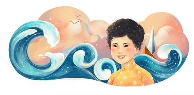 Thêm một danh nhân Việt được tôn vinh trên Google Doodle: Nhà thơ Xuân Quỳnh - Ảnh 1.