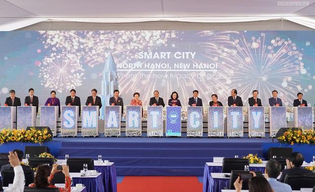 Hà Nội chuẩn bị xây tòa tháp 108 tầng trong khu đô thị thông minh bậc nhất Việt Nam  - Ảnh 1.
