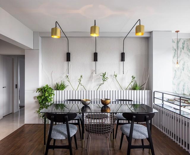 Căn hộ tầng cao sở hữu vẻ đẹp yên bình, giản dị - Ảnh 4.