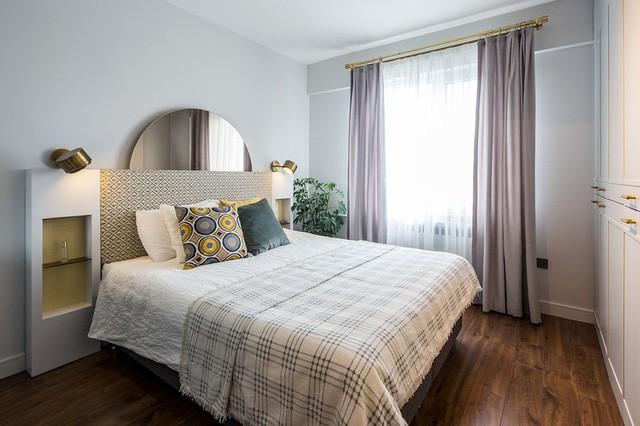 Căn hộ tầng cao sở hữu vẻ đẹp yên bình, giản dị - Ảnh 6.