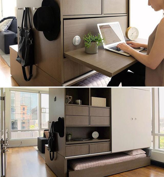 Những căn hộ siêu nhỏ, cực chất nhìn mê liền nhờ thiết kế thông minh - Ảnh 2.