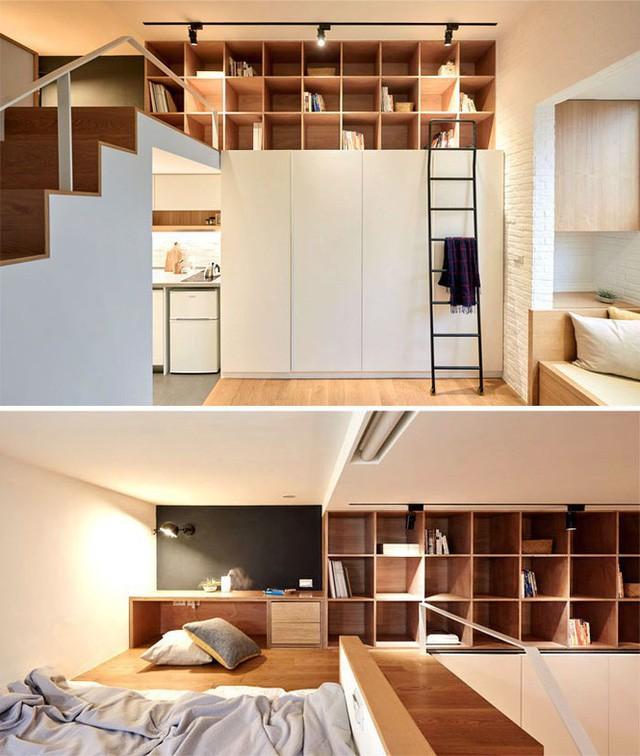 Những căn hộ siêu nhỏ, cực chất nhìn mê liền nhờ thiết kế thông minh - Ảnh 3.