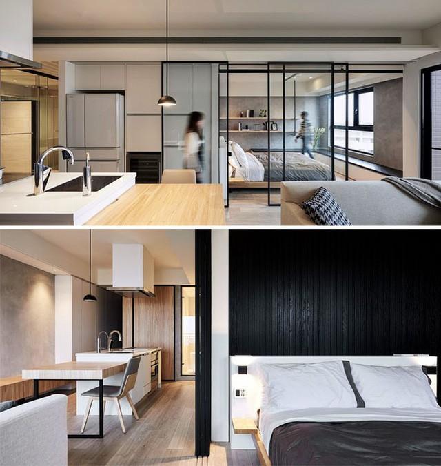Những căn hộ siêu nhỏ, cực chất nhìn mê liền nhờ thiết kế thông minh - Ảnh 7.