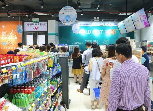 Chuỗi cửa hàng tiện lợi GS25 Hàn Quốc triển khai nhượng quyền, tham vọng mở hàng nghìn cửa hàng tại Việt Nam  - Ảnh 1.