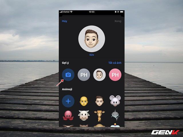 iOS 13: Cách tạo ảnh cá nhân 3D trong iMessage để làm ảnh đại diện khi liên lạc - Ảnh 6.