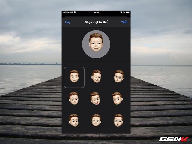 iOS 13: Cách tạo ảnh cá nhân 3D trong iMessage để làm ảnh đại diện khi liên lạc - Ảnh 10.