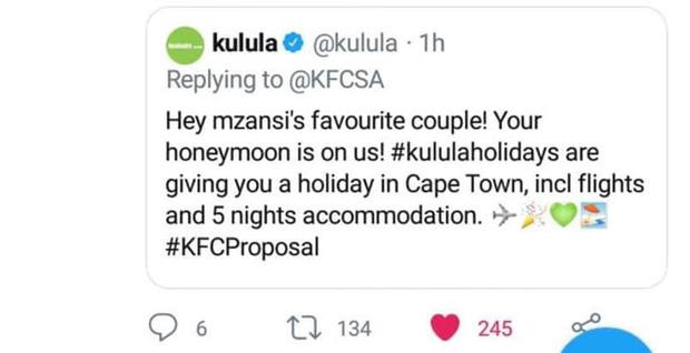 Mạnh dạn cầu hôn trong KFC, cặp đôi bất ngờ bị hàng loạt thương hiệu lớn truy lùng đòi... tặng quà khủng và đài thọ toàn bộ chi phí cưới hỏi - Ảnh 6.