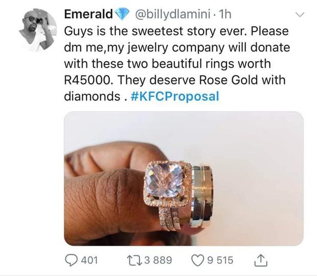 Mạnh dạn cầu hôn trong KFC, cặp đôi bất ngờ bị hàng loạt thương hiệu lớn truy lùng đòi... tặng quà khủng và đài thọ toàn bộ chi phí cưới hỏi - Ảnh 9.