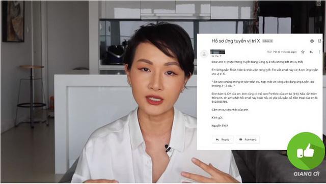 Vlogger Giang Ơi chỉ ra 6 lỗi sai phổ biến nhất khi viết CV xin việc, ai cũng nên xem để khỏi thất nghiệp dài dài - Ảnh 2.