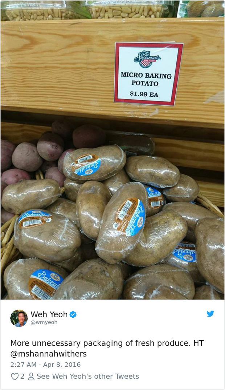 Những kiểu đóng gói thực phẩm khó hiểu trong siêu thị nước ngoài khiến bạn tự hỏi liệu có đang đi lạc sang hành tinh khác? - Ảnh 11.