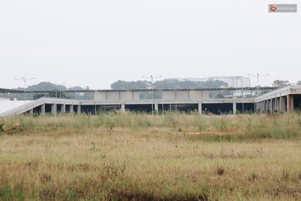 Bến xe Miền Đông mới trị giá 4.000 tỉ đồng đã hoàn thành nhưng vẫn án binh bất động, cỏ dại phủ kín xung quanh - Ảnh 12.