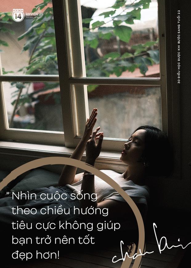Châu Bùi nói về 30 điều đã học được khi bước sang tuổi 22: Tư duy logic, có chính kiến riêng và đừng lo chuyện bao đồng! - Ảnh 15.