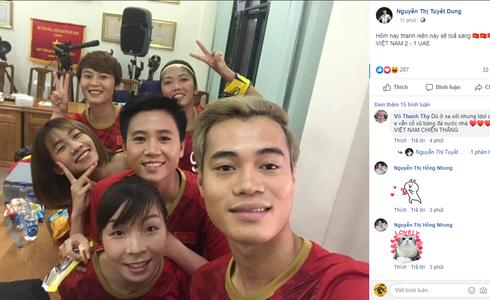Tiến Linh lập siêu phẩm, tuyển Việt Nam hạ gục UAE để chiếm ngôi đầu bảng từ tay Thái Lan - Ảnh 32.