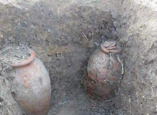 Phát hiện hầm mộ có nhiều tầng thời La Mã, Hy Lạp cổ đại tại Ai Cập - Ảnh 1.