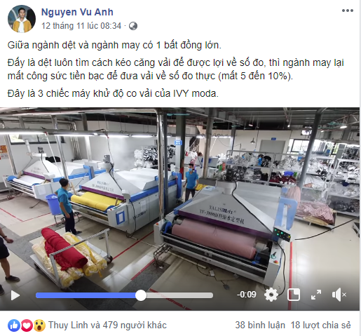 """Trong lúc em trai Nguyễn Vũ Hải Anh và Seven.AM vướng scandal 'cắt mác Tàu, gắn nhãn Việt"""", CEO Ivy Moda liên tiếp đăng video chứng tỏ hướng đi ngược lại của thương hiệu - Ảnh 2."""