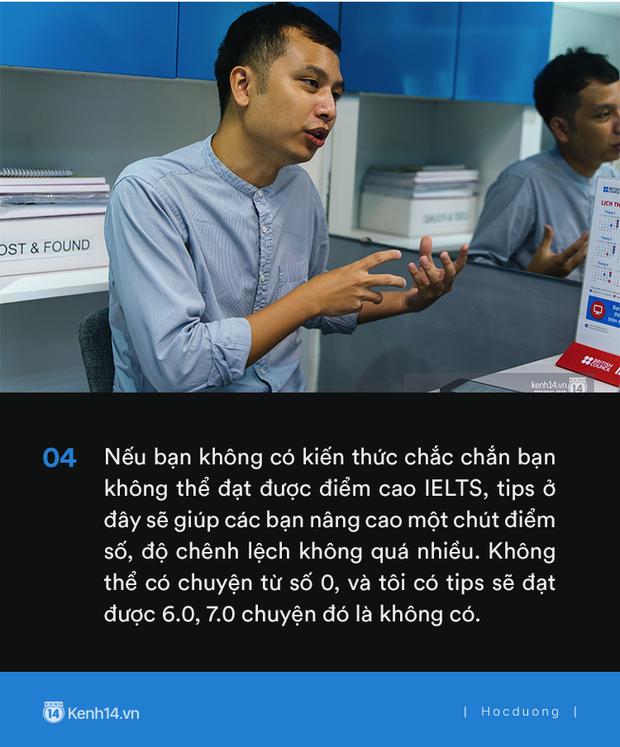 Thầy Tú Phạm 9.0 Speaking: Đạt 6.5 IELTS không khó, chỉ có điều học sinh Việt Nam giỏi mỗi khoanh ABCD, câu này đúng câu kia sai còn khả năng vận dụng bằng 0 - Ảnh 5.