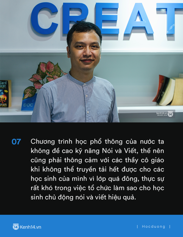 Thầy Tú Phạm 9.0 Speaking: Đạt 6.5 IELTS không khó, chỉ có điều học sinh Việt Nam giỏi mỗi khoanh ABCD, câu này đúng câu kia sai còn khả năng vận dụng bằng 0 - Ảnh 9.