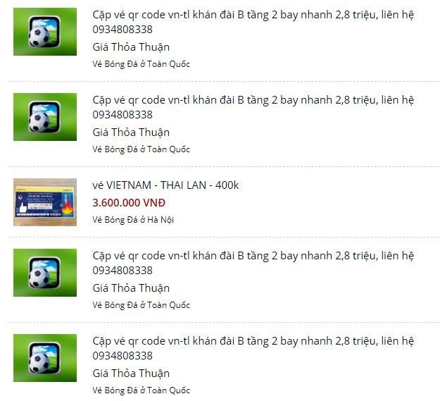 Vé xem Việt Nam vs Thái Lanbị hét giá...trên trời - Ảnh 3.