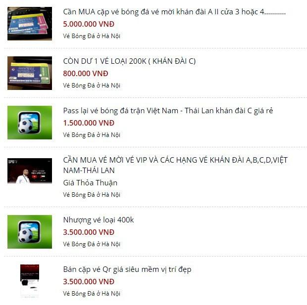 Vé xem Việt Nam vs Thái Lanbị hét giá...trên trời - Ảnh 4.