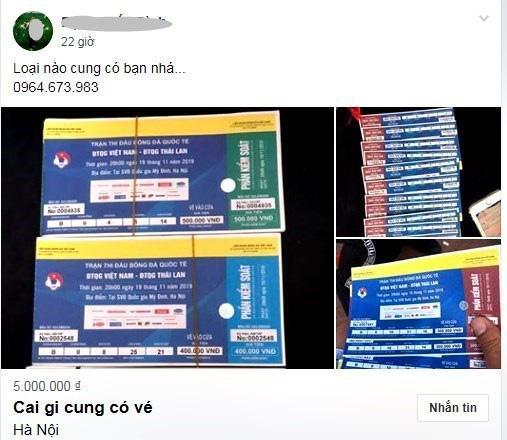 Vé xem Việt Nam vs Thái Lanbị hét giá...trên trời - Ảnh 7.