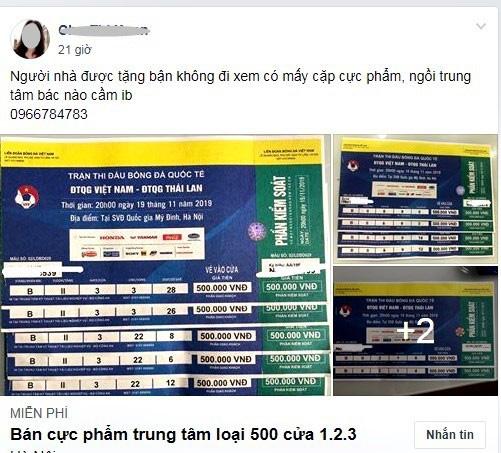 Vé xem Việt Nam vs Thái Lanbị hét giá...trên trời - Ảnh 8.
