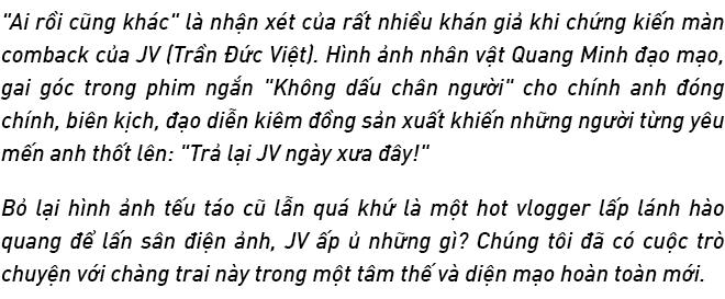 """JV Trần Đức Việt: Thành công, không phải là cảm thấy thỏa mãn với những gì đạt được, mà là hài lòng với những gì mình đã đánh đổi"""" - Ảnh 1."""