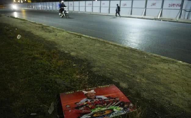 Báo Trung Quốc phát tán hình ảnh không đẹp ở Việt Nam sau trận gặp Thái Lan - Ảnh 4.